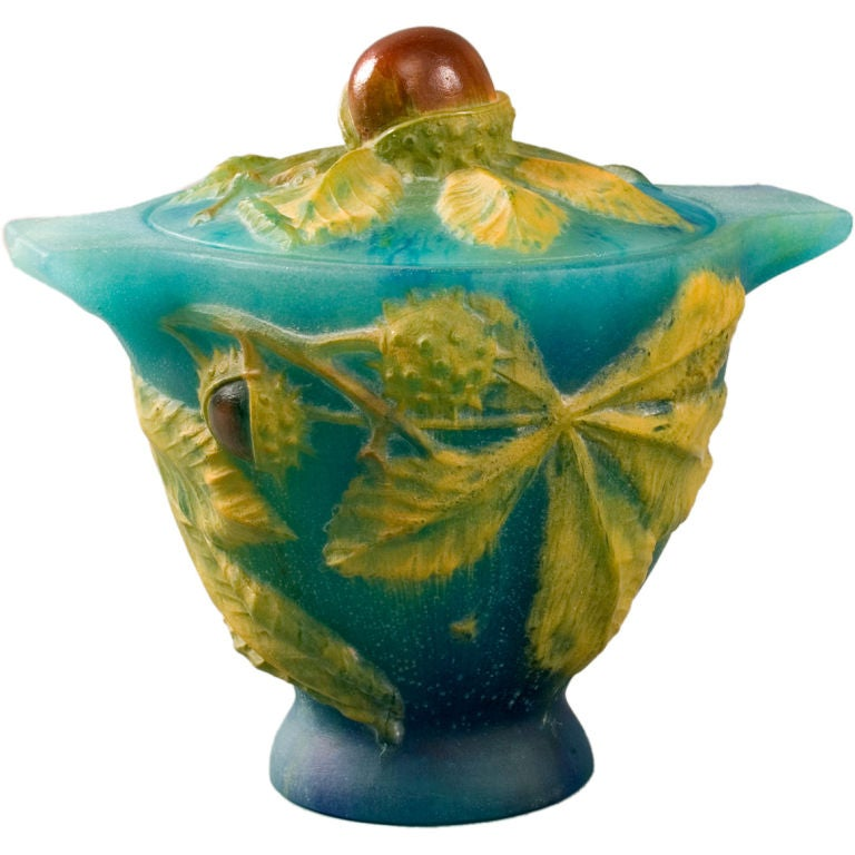 French art deco p te de verre vase by walter at 1stdibs - Idee deco vase en verre ...