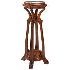 Eugene Gaillard French Art Nouveau Pedestal