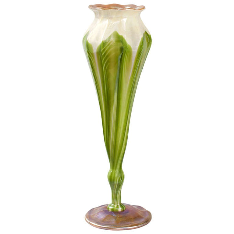"Tiffany Studios ""Flower-Form"" Vase"