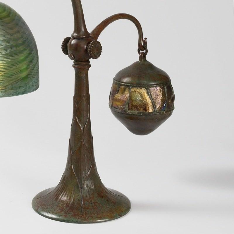 "Tiffany Studios New York ""Counter Balance"" Desk Lamp 3"