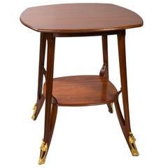 Louis Majorelle French Art Nouveau Table