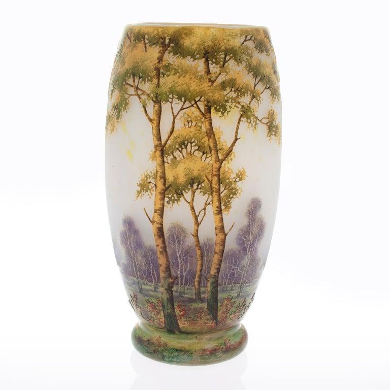 Daum nancy french art nouveau vase at 1stdibs