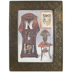 "Tiffany Studios ""Zodiac"" Picture Frame"