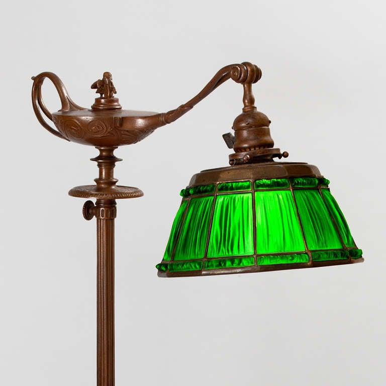 Tiffany Studios New York Quot Aladdin Quot Floor Lamp At 1stdibs
