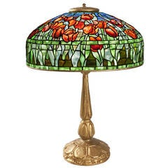"""Tulip"" Tiffany Table Lamp"