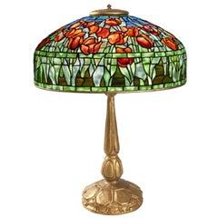 """Tulip"" Tiffany Table Lamp"