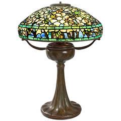 "Tiffany Studios ""Flowering Dogwood"" Lamp"