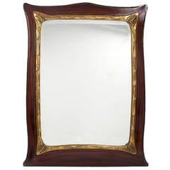 Hector Guimard French Art Nouveau Mirror