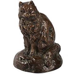 Bayre French Art Nouveau Bronze Sculpture