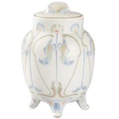 Georges de Feure French Art Nouveau Covered Porcelain Jar
