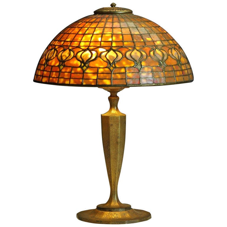 "Tiffany Studios New York ""Pomegranate"" Table Lamp"