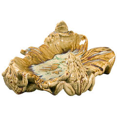 Lachenal French Art Nouveau Ceramic Tray