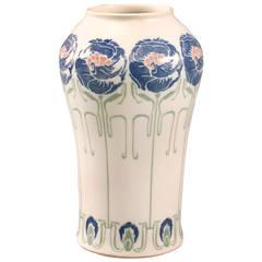 De Feure French Art Nouveau Ceramic Vase