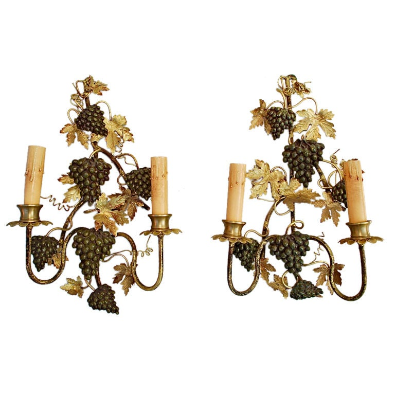 pair of antique italian sconces at 1stdibs