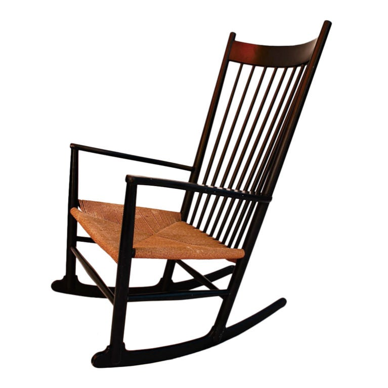 this antique rocking chair by hans wegner is no longer available