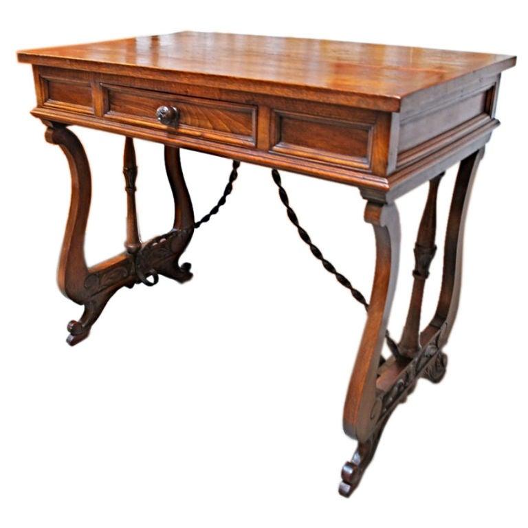 Antique French desk/ console