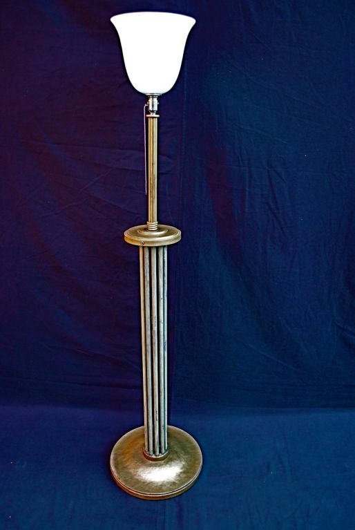 Antique floor lamp by sabino for sale at 1stdibs for Antique floor lamp parts for sale