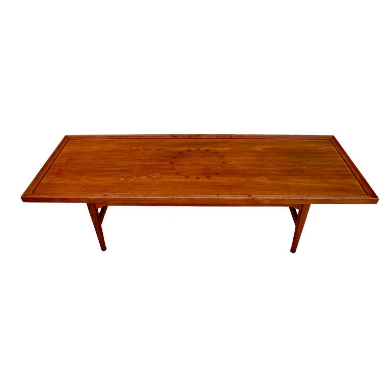 Antique 1950 Coffee Table By Kipp Stewart For Drexel At