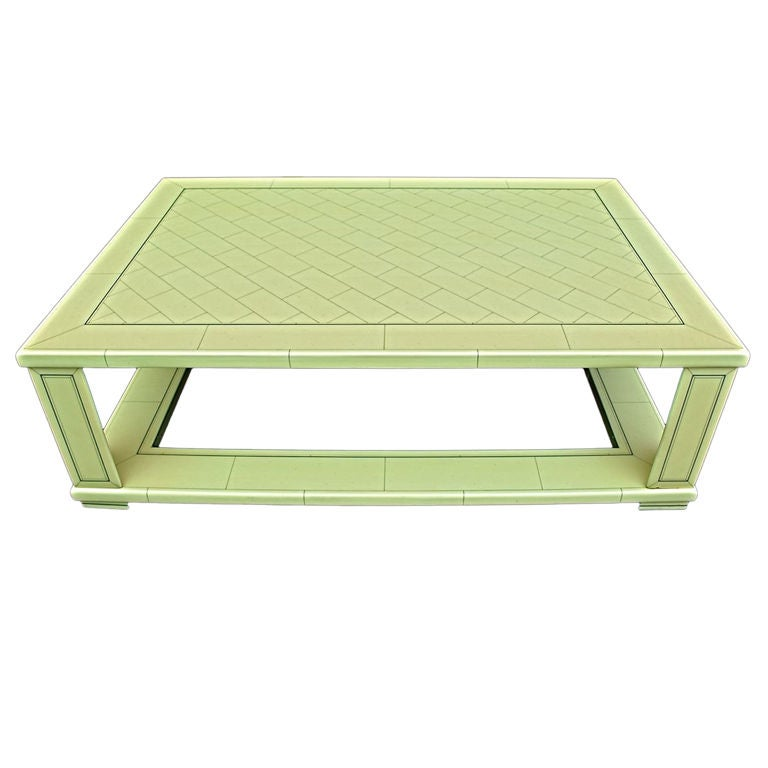 Antique coffee table by Jean Claude MAHEY