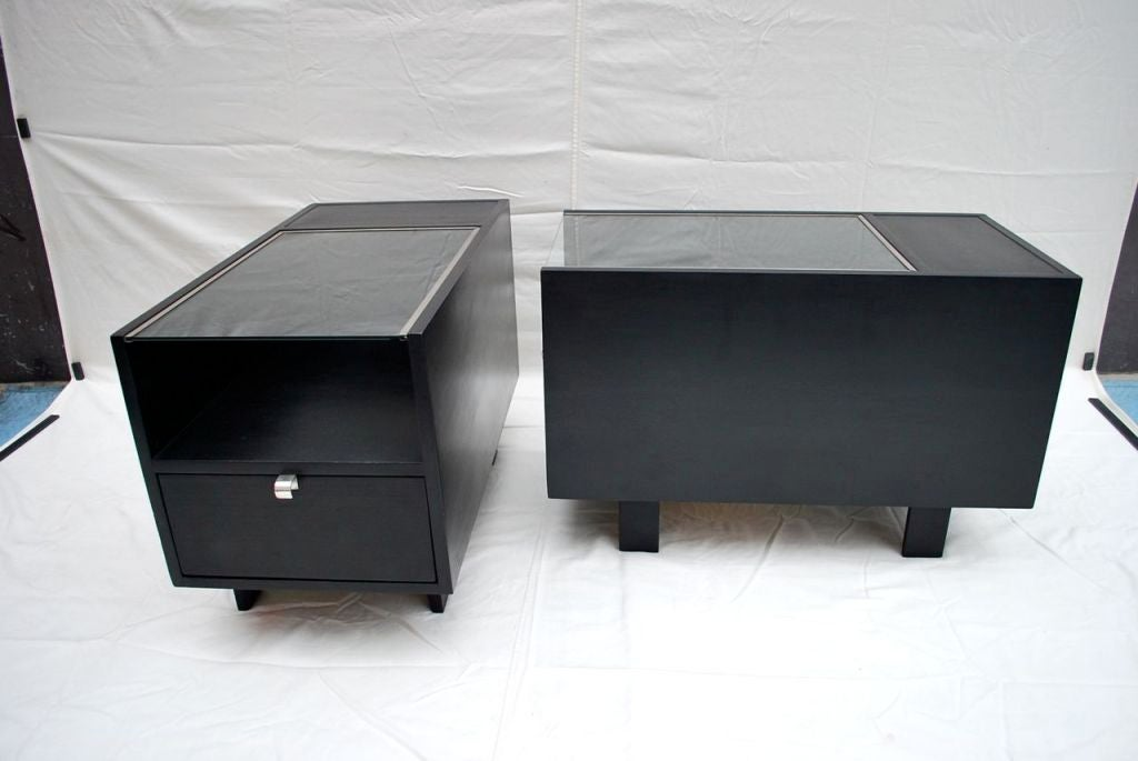 Mid-20th Century Antique pair of side table by GEORGE NELSON For Sale