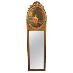 1920 trumeau mirror