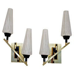 Beautiful Mid-Century French Sconces