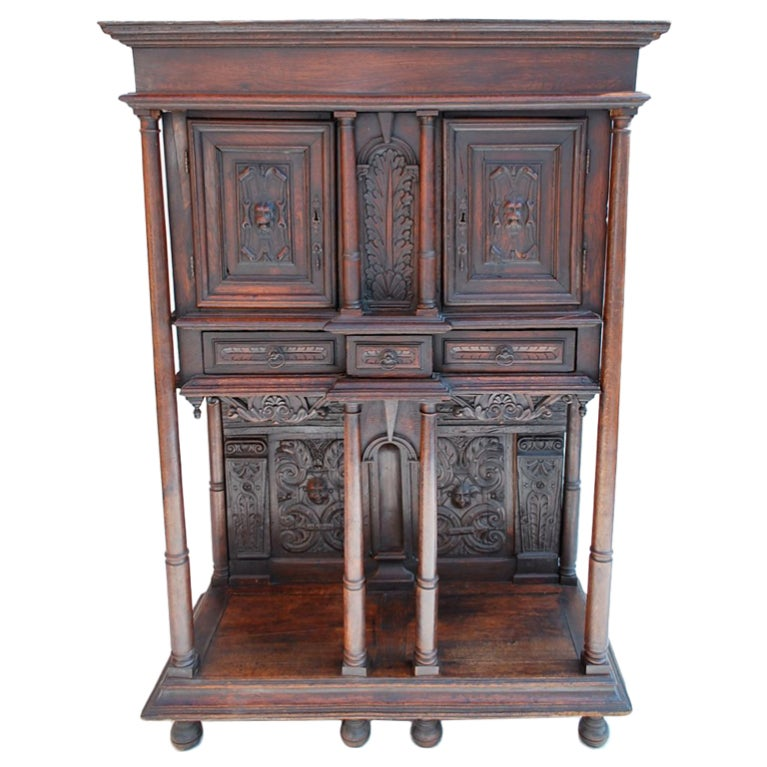 19th century french renaissance  buffet/cabinet