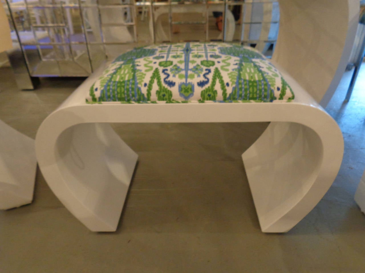 Modern 20th century console and bench at 1stdibs for Modern furniture west palm beach