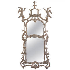 Chippendale Style Pagoda Mirror