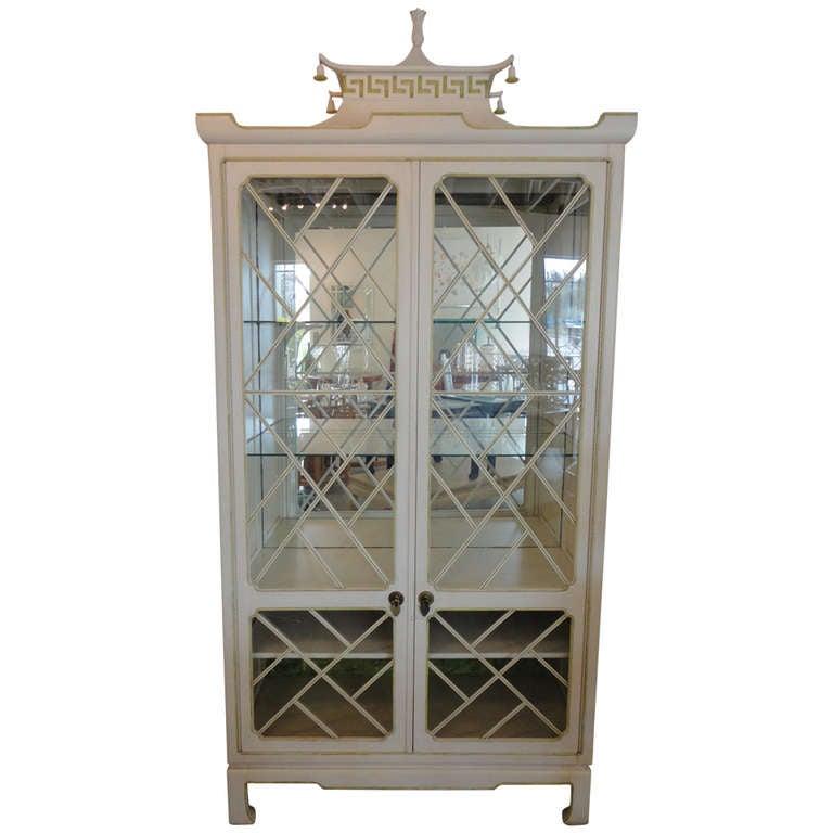 Pagoda Cabinet At 1stdibs