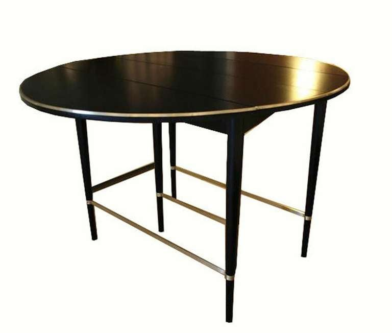 Paul McCobb Drop Leaf Extension Dining Table At 1stdibs