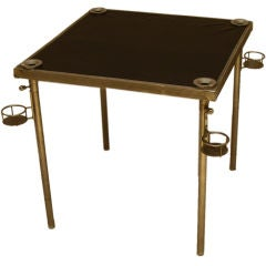 1930s French Game Table by Jacques Adnet