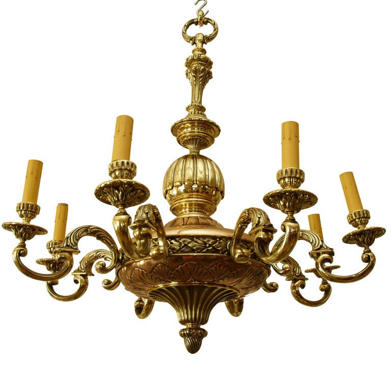 1940s French Chandelier