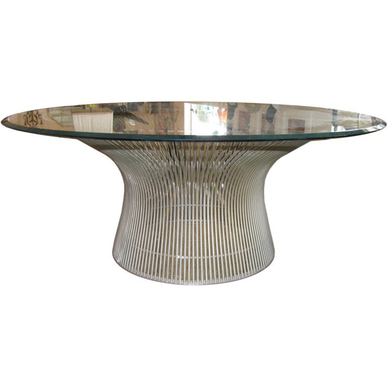 Fantastic Platner Coffee Table For Knoll At 1stdibs