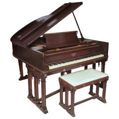 J & C Fischer Grand Piano