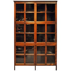 British Colonial Bookcase with Six Shelves