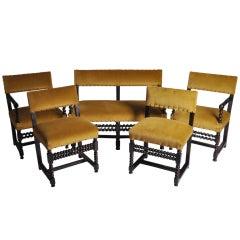 Set of Renaissance Revival Chairs
