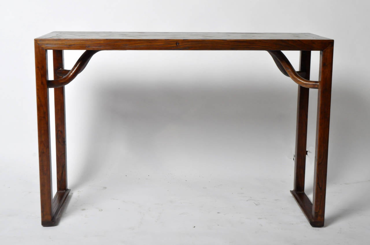 19th Century Console Table With Stone Top 3