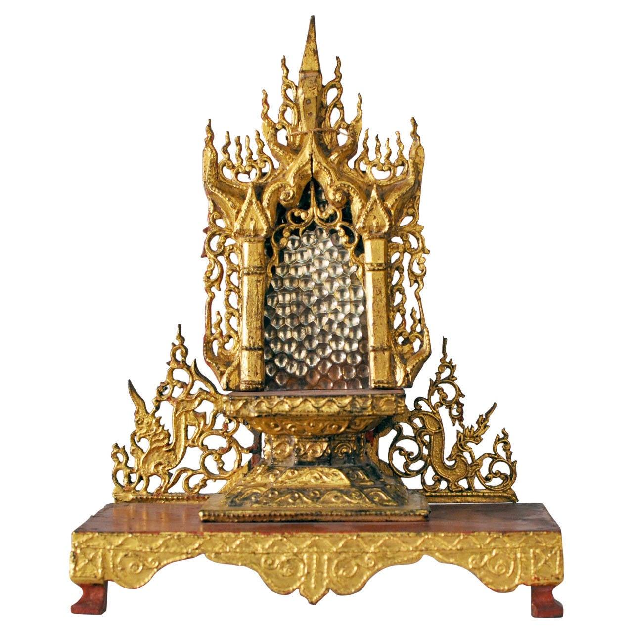 19th Century Buddha Shrine For Sale
