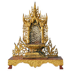19th Century Buddha Shrine