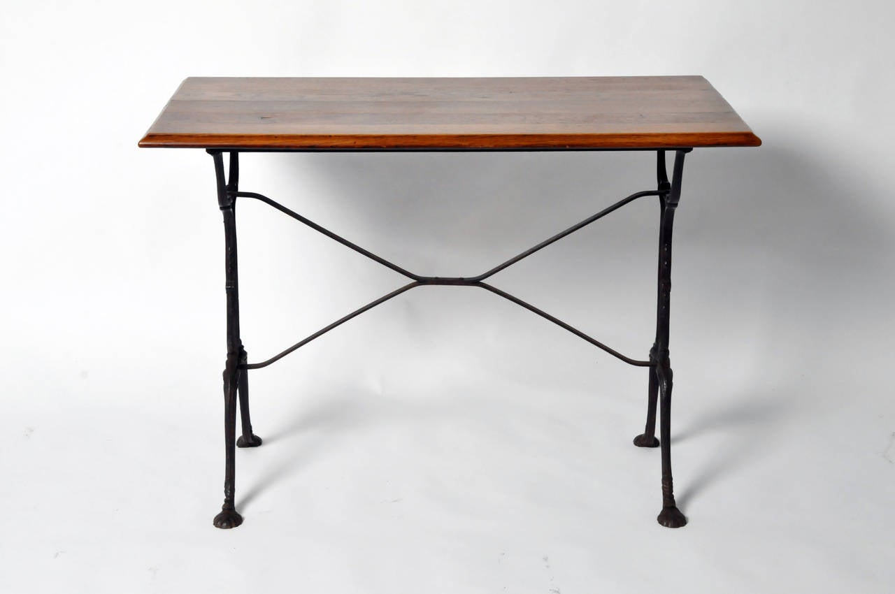 Mid century bistro table for sale at 1stdibs for Mid century bistro table