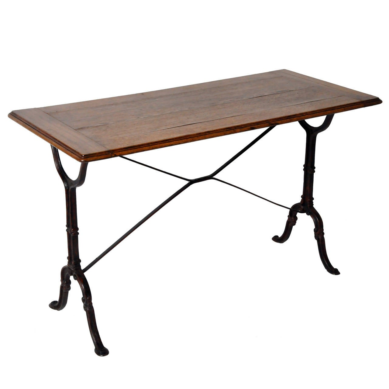 Mid century bistro table at 1stdibs for Mid century bistro table