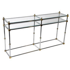 Vintage French Console Table