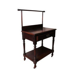 British Colonial Valet Table