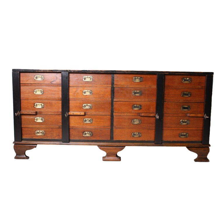 british colonial sideboard at 1stdibs. Black Bedroom Furniture Sets. Home Design Ideas
