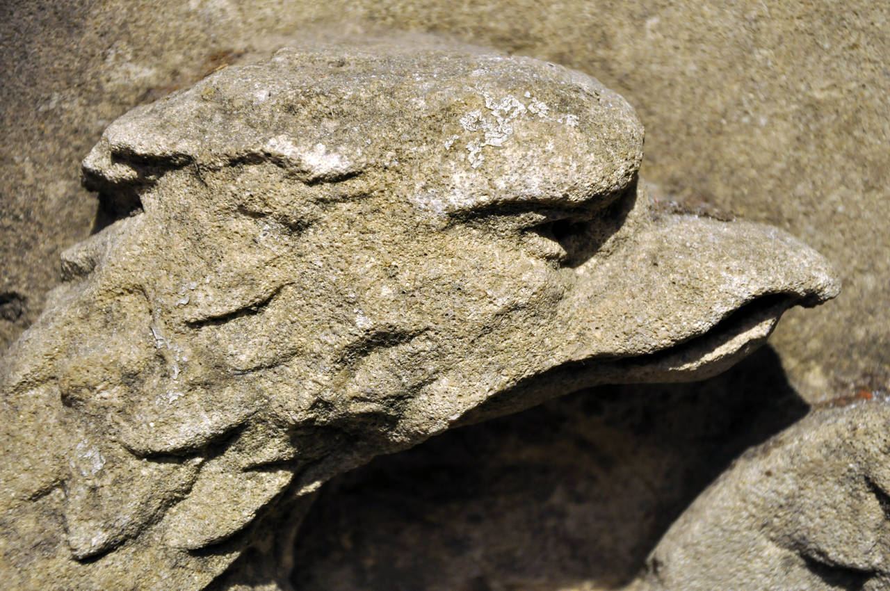 19th Century Limestone Architectural Fragment For Sale 3