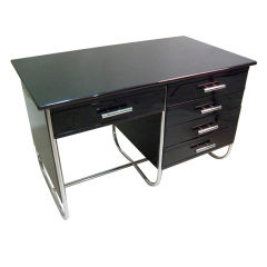 Bauhaus Style Desk in the manner of Marcel Breuer