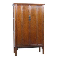 Chinese Cabinet with Rounded Posts