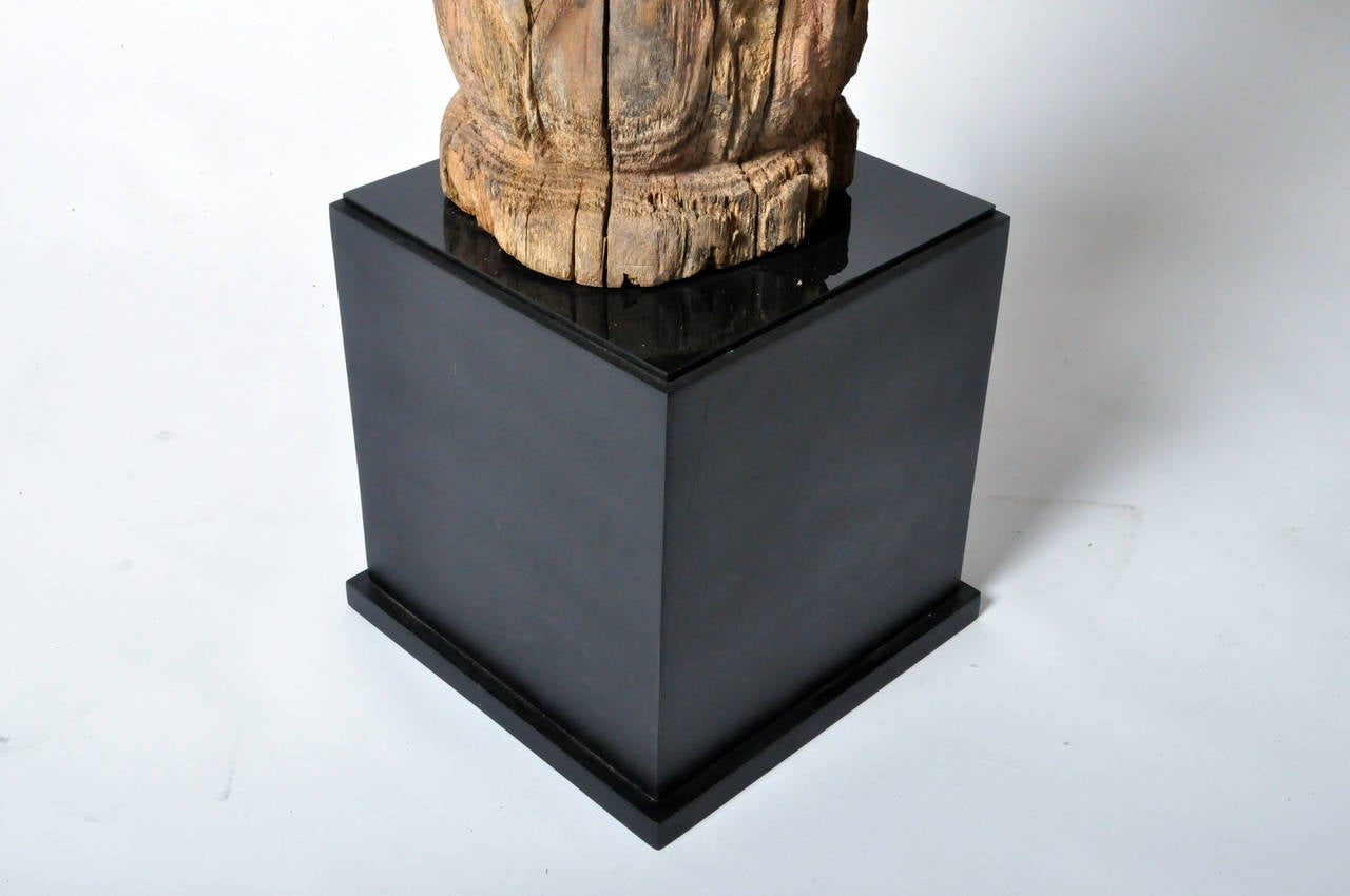 Hand-Carved Sculpture For Sale 4