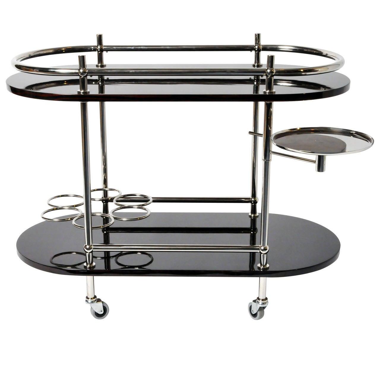 Art Deco Style Bar Cart At 1stdibs